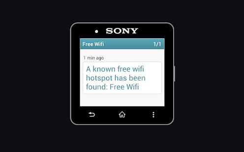 Free Wifi Notifier