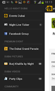 Hello-Night Dubai – Miniaturansicht des Screenshots