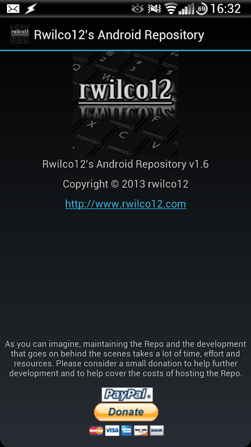 Rwilco12's Android Repo Pro- screenshot