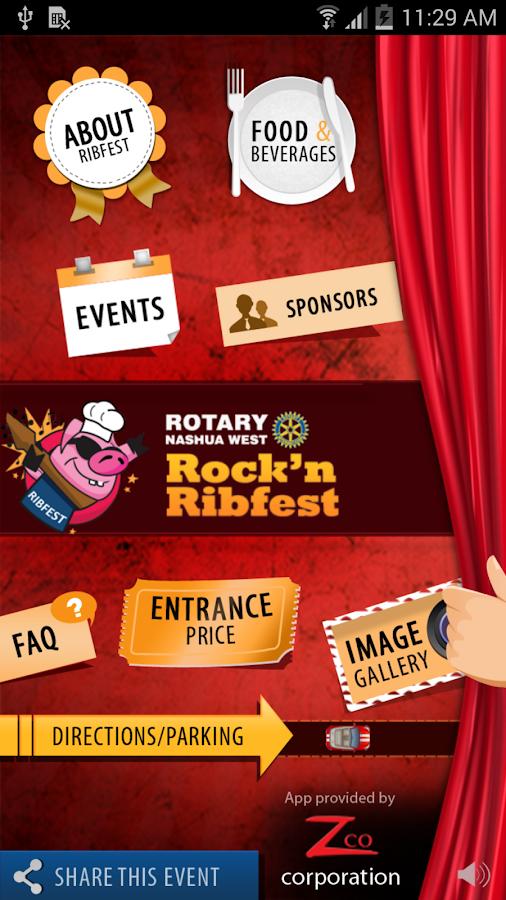 Rotary Nashua Rock'n Ribfest - screenshot