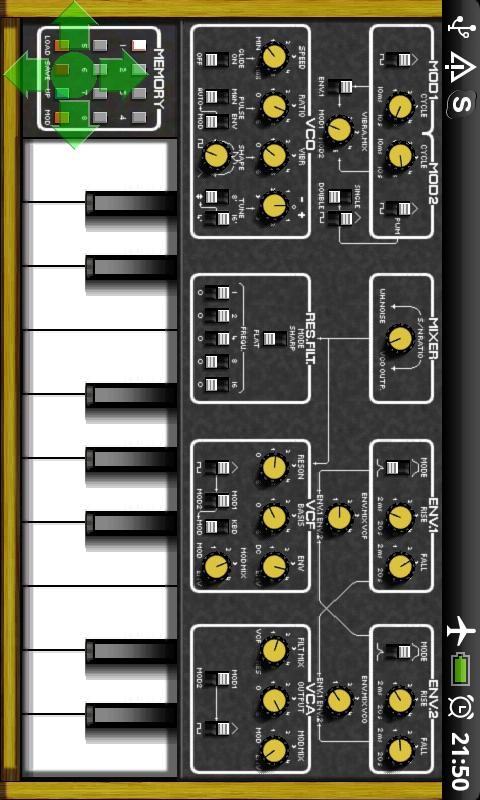 BME Synthesizer- screenshot