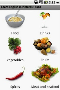 German in Pictures: Food - screenshot thumbnail