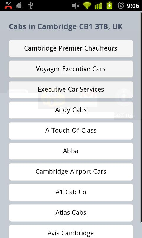 Call a Cab - screenshot
