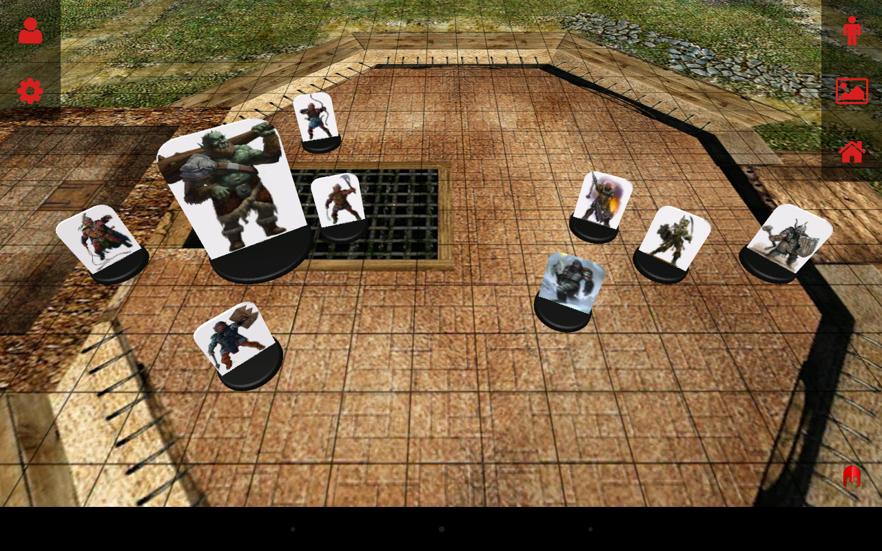 3D Virtual Tabletop- screenshot