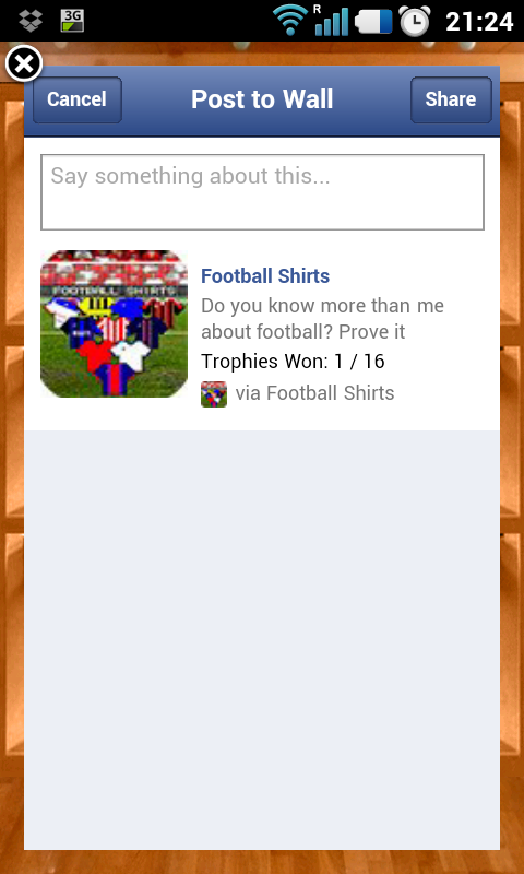 Football Shirts - screenshot