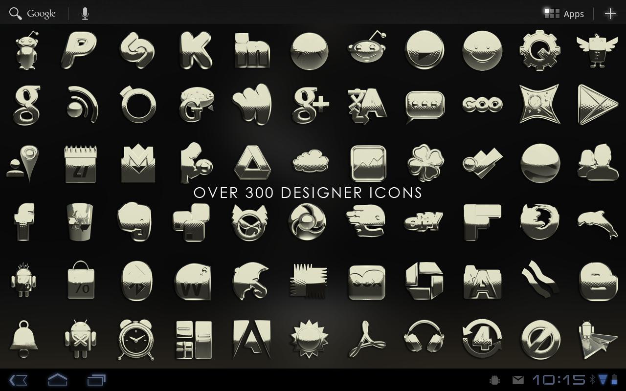 Google themes over the years - Next Theme Dragon Platinum Screenshot