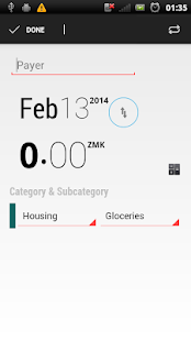 Expense Manager App - screenshot thumbnail