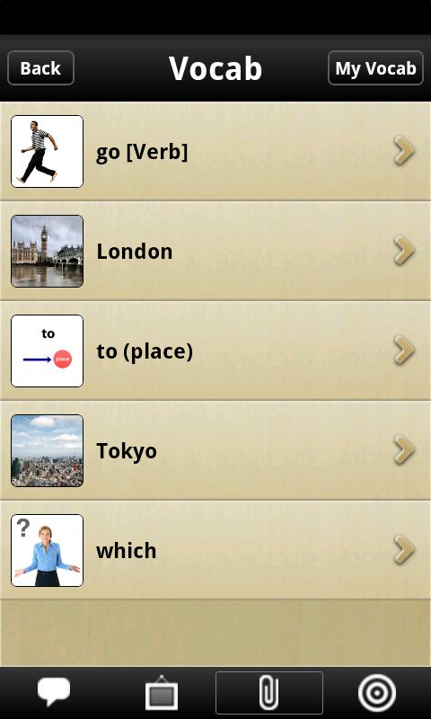 iStart Japanese! Android- screenshot