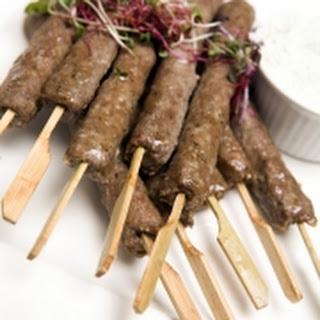 Tikka kebab (Gekruide lamsspiesjes)