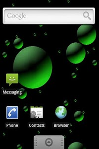 3D Bubbles Live Wallpaper Lite screenshot 0