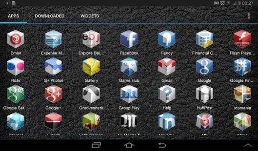 3D Icon Pack - Apex Nova ADW