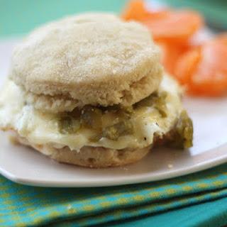 Pepperjack Green Chile Breakfast Sandwiches