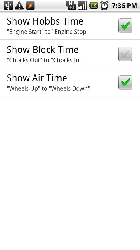 Flight Timer Lite- screenshot