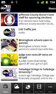 ABC 3340 - Alabama's News Lead - screenshot thumbnail