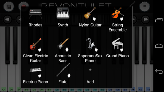Flute Sound Plugin - screenshot thumbnail