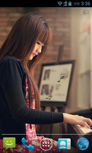 Beauty and Piano LWP