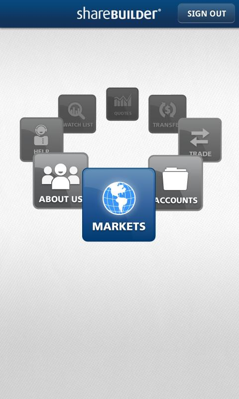 ShareBuilder Mobile - screenshot