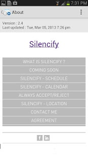 Silencify : Smart Silence - screenshot thumbnail