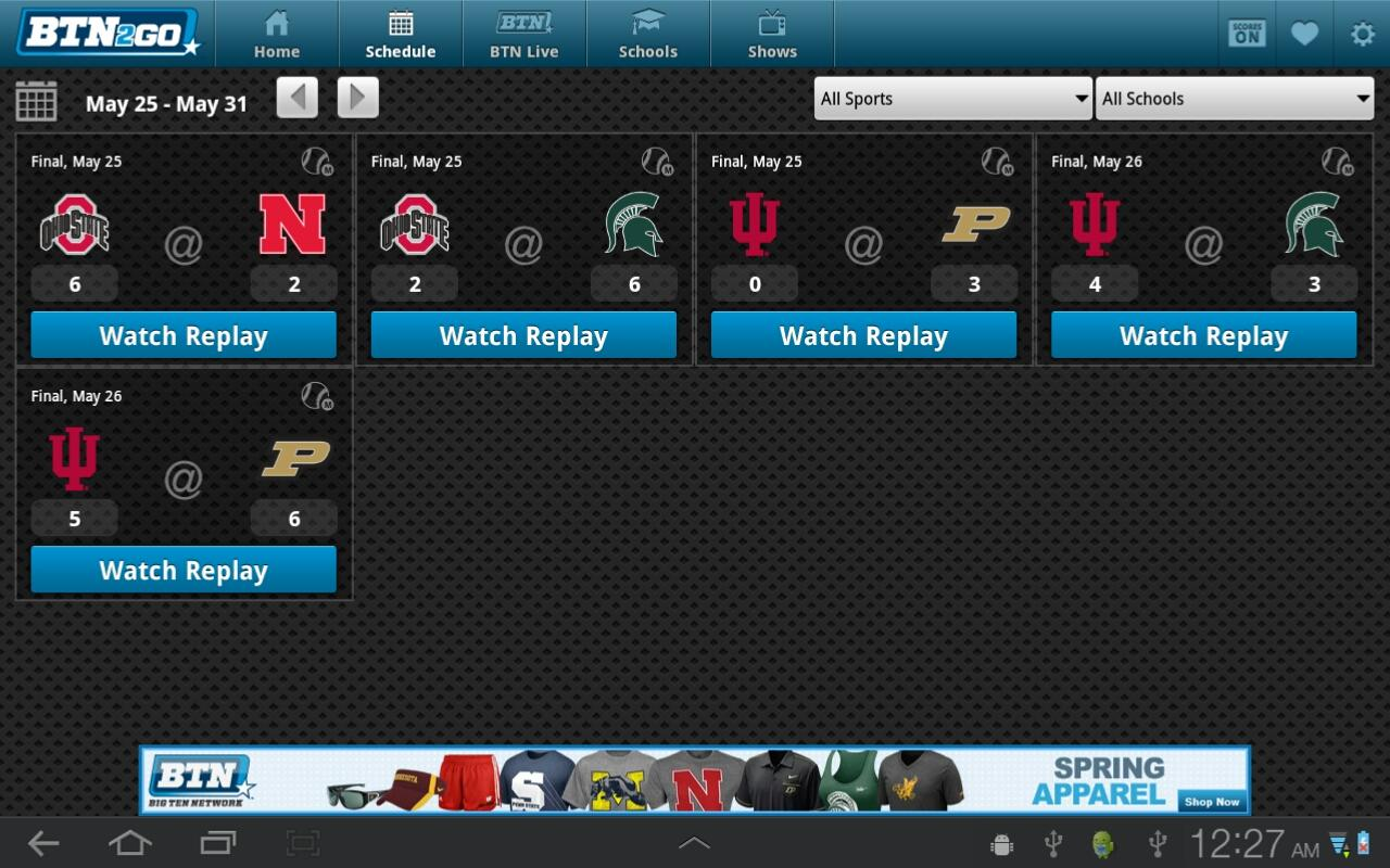 BTN2Go Tablet - screenshot