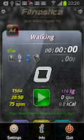 Screenshot of Fitnastica Exercise Counter