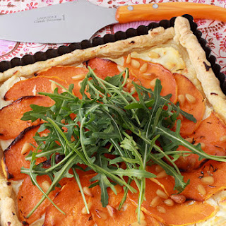 Butternut Squash and Ricotta Tart.