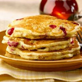 All-Bran Cranberry Orange Pancakes.