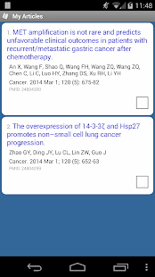 PubMed Mobile- screenshot thumbnail