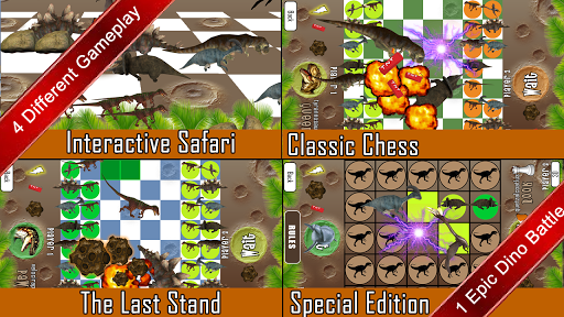 Checkonaut Dino Chess