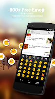 Screenshot of Hungarian for GO Keyboard
