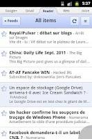 Screenshot of Zirco Browser