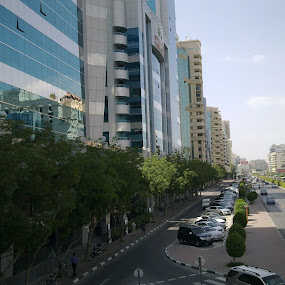 AL MAKTOUM STREET DUBAI....... by Shahnavaz Surfudeen - Buildings & Architecture Office Buildings & Hotels