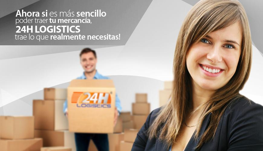 24H Logistics: captura de pantalla