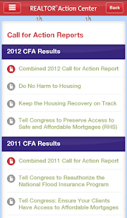 NAR Action Center - screenshot thumbnail