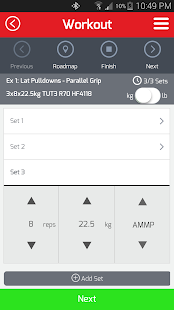 AMP Your Workout- screenshot thumbnail
