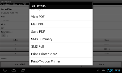 How To Send Multiple Invoices In Quickbooks Pdf Tycoon Smbinvoiceposbilling  Android Apps On Google Play Holding Deposit Receipt with Bill Invoice Template Free Excel  Tycoon Smbinvoiceposbilling Screenshot Thumbnail  Apple Numbers Invoice Template Word