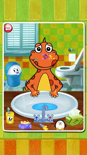 玩教育App Dino Bath & Dress Up免費 APP試玩