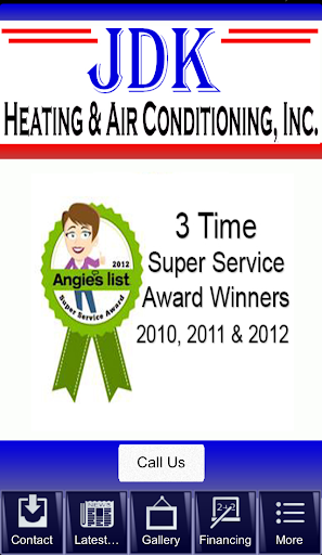JDK Heating Air Conditioning