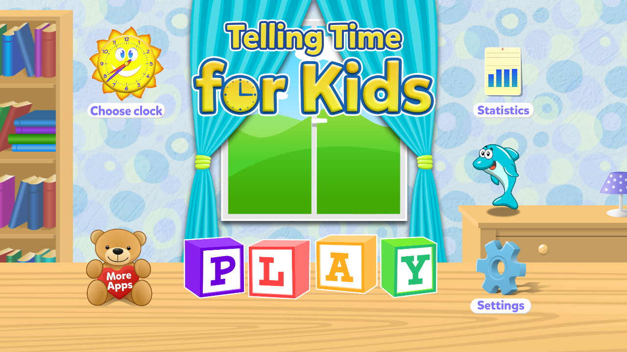 Telling Time Games For Kids- screenshot
