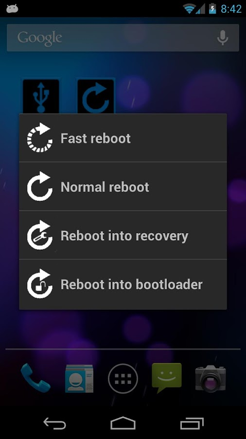 ADB Toggle (ROOT/USB)- screenshot