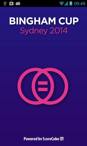 Bingham Cup 2014 App