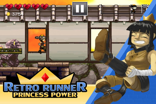 Retro Runner: Princess Power