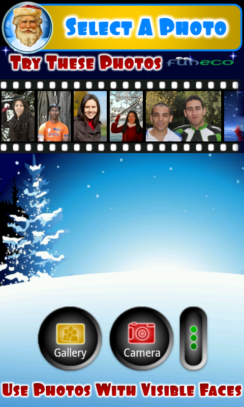 Photo talks Christmas New Year - screenshot