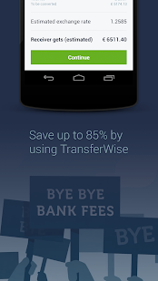 TransferWise Money Transfer - screenshot thumbnail