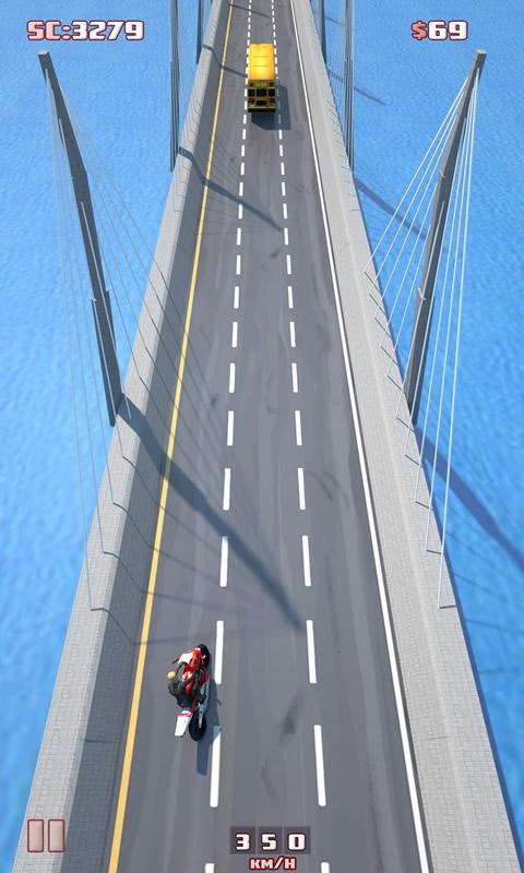 Screenshots of Moto Racing for Android