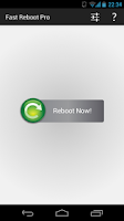 Screenshot of Fast Reboot Pro