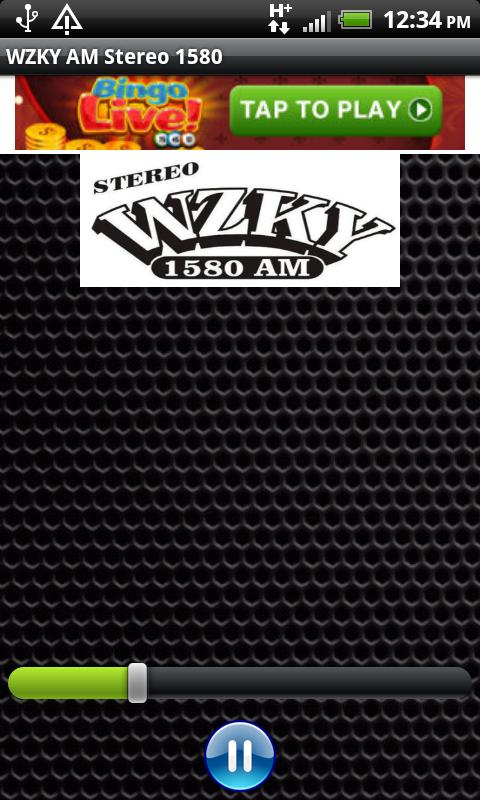 WZKY AM Stereo 1580 - screenshot