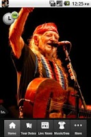 Screenshot of Willie Nelson Live