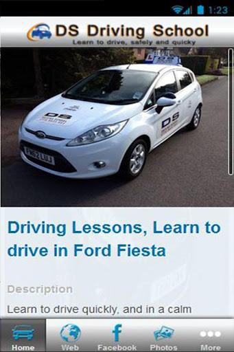 DS Driving School App