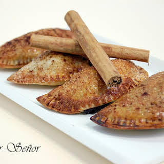 Sweet Chocolate And Cinnamon Empanadas.