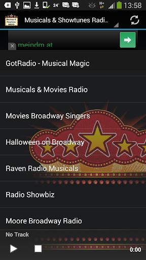 Musicals Showtunes Radios